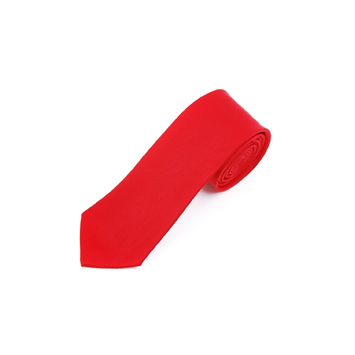 SY-2501-rd11-SPST-Red-PolySolidSlimTie-57X2.75-Retail$7.48