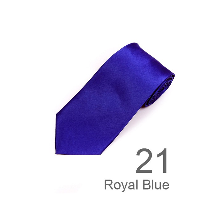 SY-SS-130121-SST-Royal Blue-SolidSilkTie-Retail$14.98