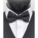SY-BT-13011-Black-Men'sBowTies2.5'PolySatinBanded-Retail$4.82
