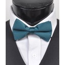 SY-BT-13017-Teal-Men'sBowTies2.5'PolySatinBanded-Retail$4.82