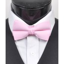 SY-BT-13019-Pink-Men'sBowTies2.5'PolySatinBanded-Retail$4.82