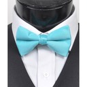 SY-BT-13024-Turquoise-Men'sBowTies2.5'PolySatinBanded-Retail$4.82