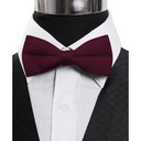 SY-BT-13026-Burgundy-Men'sBowTies2.5'PolySatinBanded-Retail$4.82