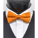 SY-BT-13027-NeonOrange-Men'sBowTies2.5'PolySatinBanded-Retail$4.82