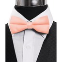 SY-BT-13034-Coral-Men'sBowTies2.5'PolySatinBanded-Retail$4.82