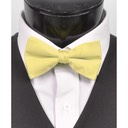SY-BT-13040-LtYellow-Men'sBowTies2.5'PolySatinBanded-Retail$4.82