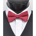 SY-BT-13013-Burgundy-Men'sBowTies2.5'PolySatinBanded-Retail$4.82